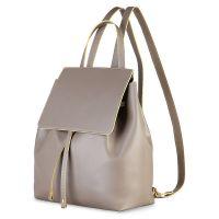Made in Italia Rucksack Carmen Taupe Senape Damen Tasche Grau Women NEU & OVP