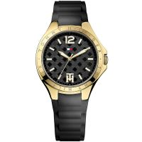 Tommy Hilfiger Uhr 1781382 Damenuhr Gold Schwarz Lady Armbanduhr NEU & OVP