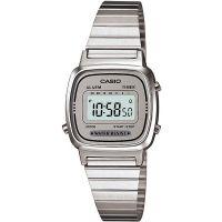 Casio Uhr LA670WA-7DF Damen Armbanduhr Digitaluhr Silber Watch NEU & OVP