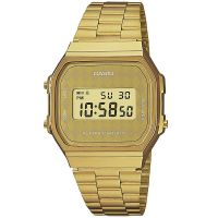 Casio Uhr A168WG-9BWEF Retro Digitaluhr Armbanduhr Herren Damen Gold NEU & OVP
