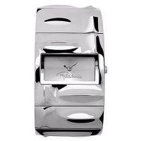 Roberto Cavalli Uhr R7253270015 Croco Tail Damen Uhr Edelstahl Silber NEU & OVP