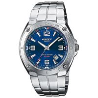 Casio Edifice EF-126D-2AVEF Herren Armbanduhr Edelstahl Blau Silber NEU & OVP