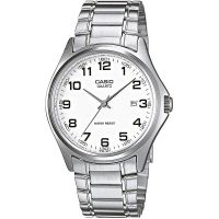 Casio Uhr MTP-1183PA-7B Herren Edelstahl Silber Datum B-WARE mit Gebrauchsspuren