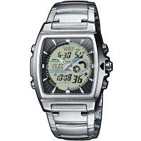 Casio Edifice Herren Uhr EFA-120D-7A Armbanduhr Analog Digital Schwarz NEU & OVP