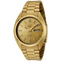 Seiko 5 Gent Uhr SNXS80K Automatikuhr Gold Golden Herrenuhr Watch NEU & OVP