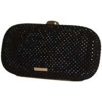 Fornarina Clutch B641X18800 Evening Bag Black Glitzer Handtasche Damen NEU & OVP