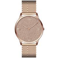 Mendozza Uhr MW-GR0303H-RM Sparkling Rose Armbanduhr Roségold