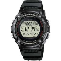 Casio Uhr W-S200H-1B Herren Solaruhr Armbanduhr Digital Schwarz Grau NEU & OVP