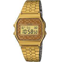 Casio Uhr A159WGEA-9ADF Retro Digitaluhr Armbanduhr Herren Damen Gold NEU & OVP