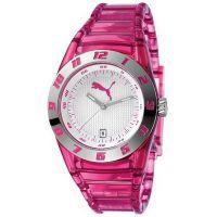 Puma Uhr PU910662002 Damenuhr Analog Silber Pink Lady Watch NEU & OVP