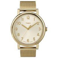 Timex Uhr T2N598 ORIGINALS MESH Damen Edelstahl Gold Watch NEU & OVP