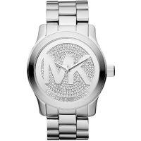 Michael Kors Uhr MK5544 Unisex Lady Men Silber Edelstahl Armbanduhr XL NEU & OVP