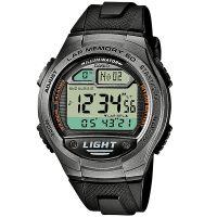 Casio Digitaluhr W-734-1A Armbanduhr Herren Schwarz Weltzeit Sport NEU & OVP