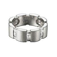 Esprit Ring ESRG91438A17 Damen 925er Sterling Silber Zirkonia NEU & OVP