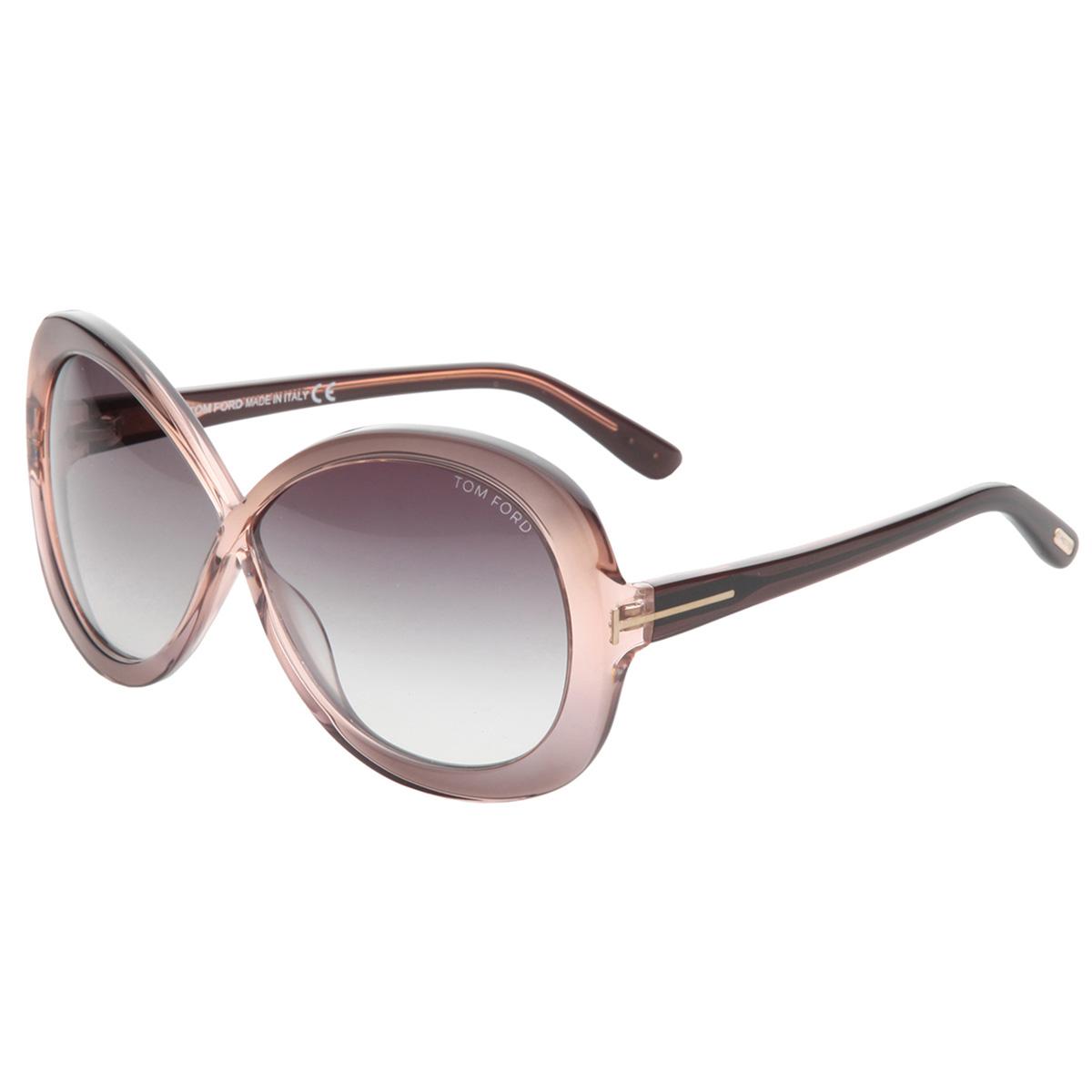 Tom Ford Sonnenbrille FT0226_74B Damen Sunglasses Lady\'s Rosa Lila ...
