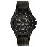 Versace Uhr M8C60D008S009 Herrenuhr Chrono Schwarz Edelstahl Watch NEU & OVP