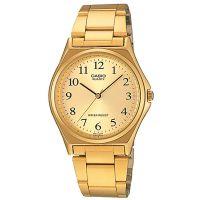 Casio Herrenuhr MTP-1130N-9B Armbanduhr Edelstahl Gold men watch NEU & OVP