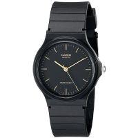 Casio Unisexuhr MQ-24-1ELDF Armbanduhr Herren Damen Schwarz Gold watch NEU & OVP