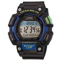Casio Uhr STL-S110H-1B Herren Digital Armbanduhr Schwarz Blau Solar NEU & OVP