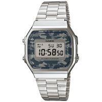 Casio Uhr A168WEC-1EF Retro Digitaluhr Herren Damen Camouflage NEU & OVP