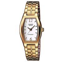Casio Uhr LTP-1281PG-7AEF Damen Armbanduhr Edelstahl Gold Weiß Watch NEU & OVP