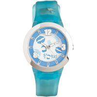 Fiorucci Uhr FR070_3 Kinderuhr Blau Silber Children's Watch NEU & OVP
