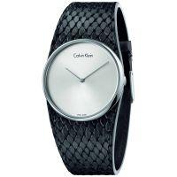 Calvin Klein Uhr K5V231C6 Spellbound Damen Leder Kroko Swiss Made NEU & OVP