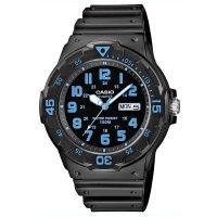 Casio Unisexuhr MRW-200H-2B Armbanduhr Damen Herren Schwarz Sport NEU & OVP