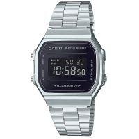 Casio Uhr A168WEM-1EF Retro Digital Armbanduhr Herren Damen Schwarz NEU & OVP