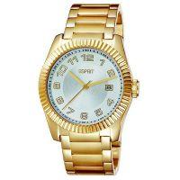Esprit Uhr ES103581006 Damen Edelstahlarmband Gold Silber Datum NEU & OVP