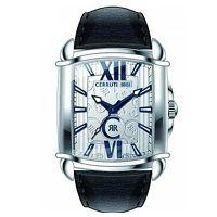 Cerruti 1881 Uhr CRB037A212B Herrenuhr Leder Schwarz Silber Watch Men NEU & OVP