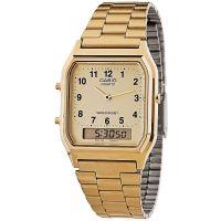 Casio Unisexuhr AQ-230GA-9BMQ Analog Digital Damen Herren Gold watch NEU & OVP