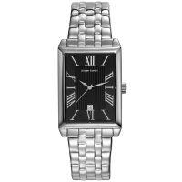 Pierre Cardin Uhr PC107212F13 Belneuf Damen Edelstahl Silber Schwarz NEU & OVP