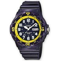 Casio Uhr MRW-200HC-2B Herren Damen Armbanduhr Blau Gelb Sport Watch NEU & OVP
