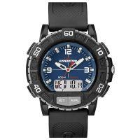 Timex Uhr T49968 EXPEDITION Double Shock Analog Digital Herren Schwarz NEU & OVP
