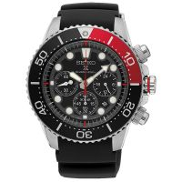 Seiko Uhr SSC617P1 Prospex Herren Taucheruhr Solar Chronograph Schwarz NEU & OVP