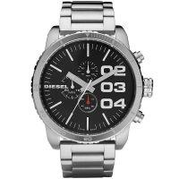 Diesel Uhr DZ4209 Herrenuhr XXL Chronograph Silber Edelstahl Watch NEU & OVP