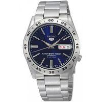 Seiko 5 Gent Uhr SNKD99K1 Automatikuhr Silber Blau Herrenuhr Watch NEU & OVP