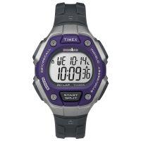 Timex Uhr TW5K89500 IRONMAN CLASSIC 30 Digital Unisex Grau Lila Watch NEU & OVP