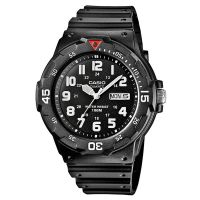 Casio Uhr MRW-200H-1B Damen Herren Armbanduhr Schwarz Weiß Sport Watch NEU & OVP