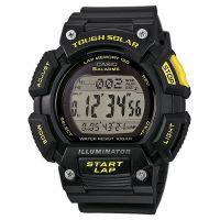 Casio Uhr STL-S110H-1C Herren Digital Schwarz Gelb Solaruhr Watch NEU & OVP