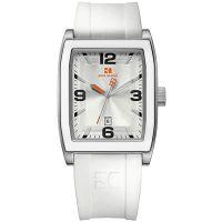 Boss Orange Uhr 1512684 Herrenuhr Silikon Weiß Silber Datum Watch Men NEU & OVP