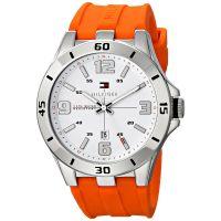 Tommy Hilfiger Uhr 1791063 Herrenuhr Orange Silber Armbanduhr Watch NEU & OVP