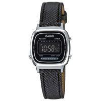 Casio Uhr LA670WL-1BDF Digital Damen Armbanduhr Jeans Schwarz Watch NEU & OVP