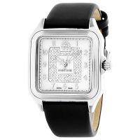 Roberto Cavalli Uhr R7251192515 Damenuhr Leder Schwarz Silber Watch NEU & OVP