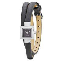 Pandora Damen Uhr 811027BK Leder Armband Grau Silber Lady Watch NEU & OVP