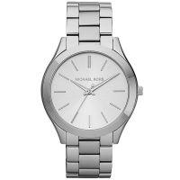 Michael Kors Uhr MK3178 Damenuhr Silber Edelstahl Slim Armbanduhr NEU & OVP
