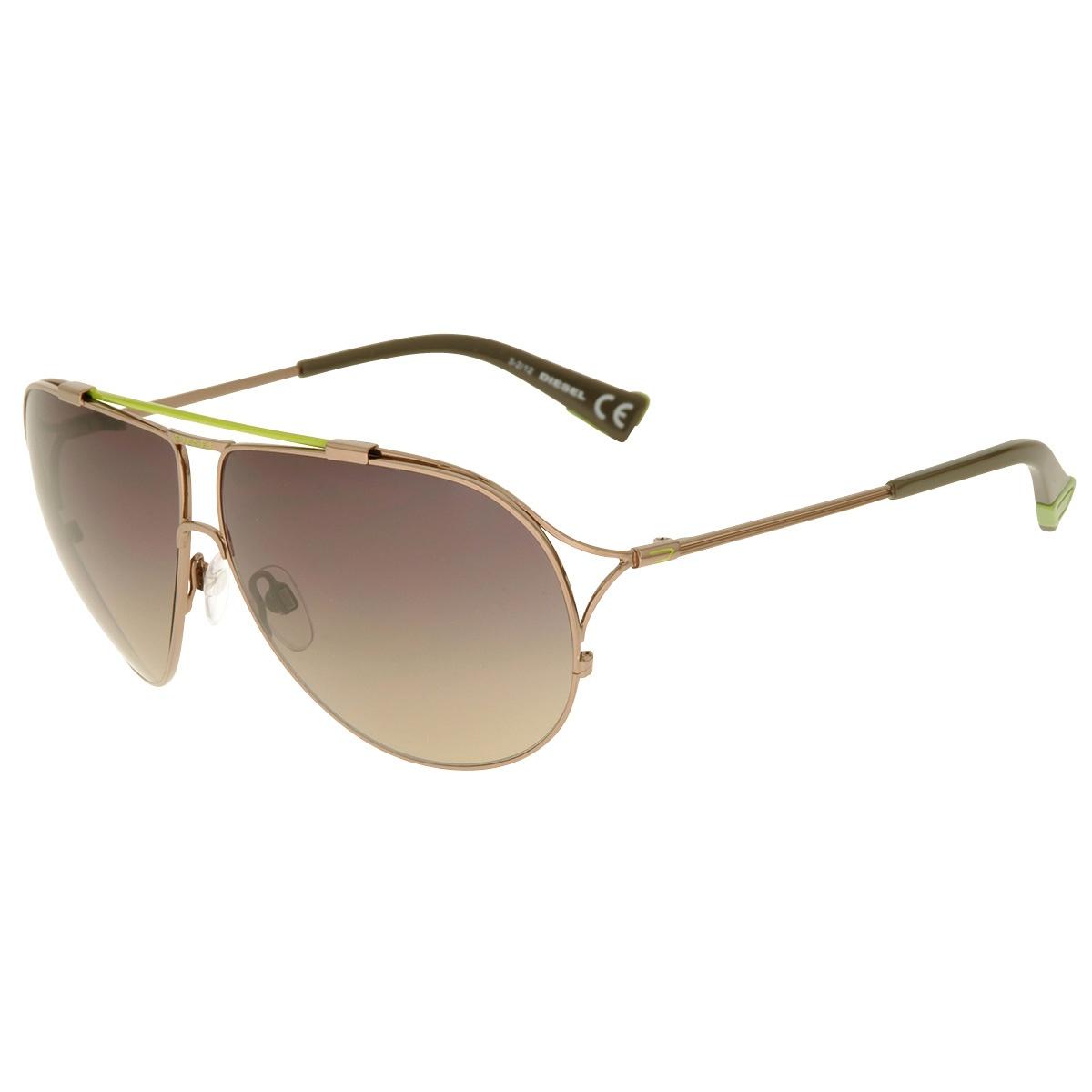 410cd20dc26e78 Diesel Sonnenbrille DL0017 6336B Herren Damen Silber Grün Sunglasses NEU    OVP